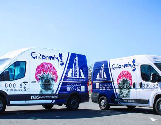 Grand Opening of Mobile pet Grooming Services