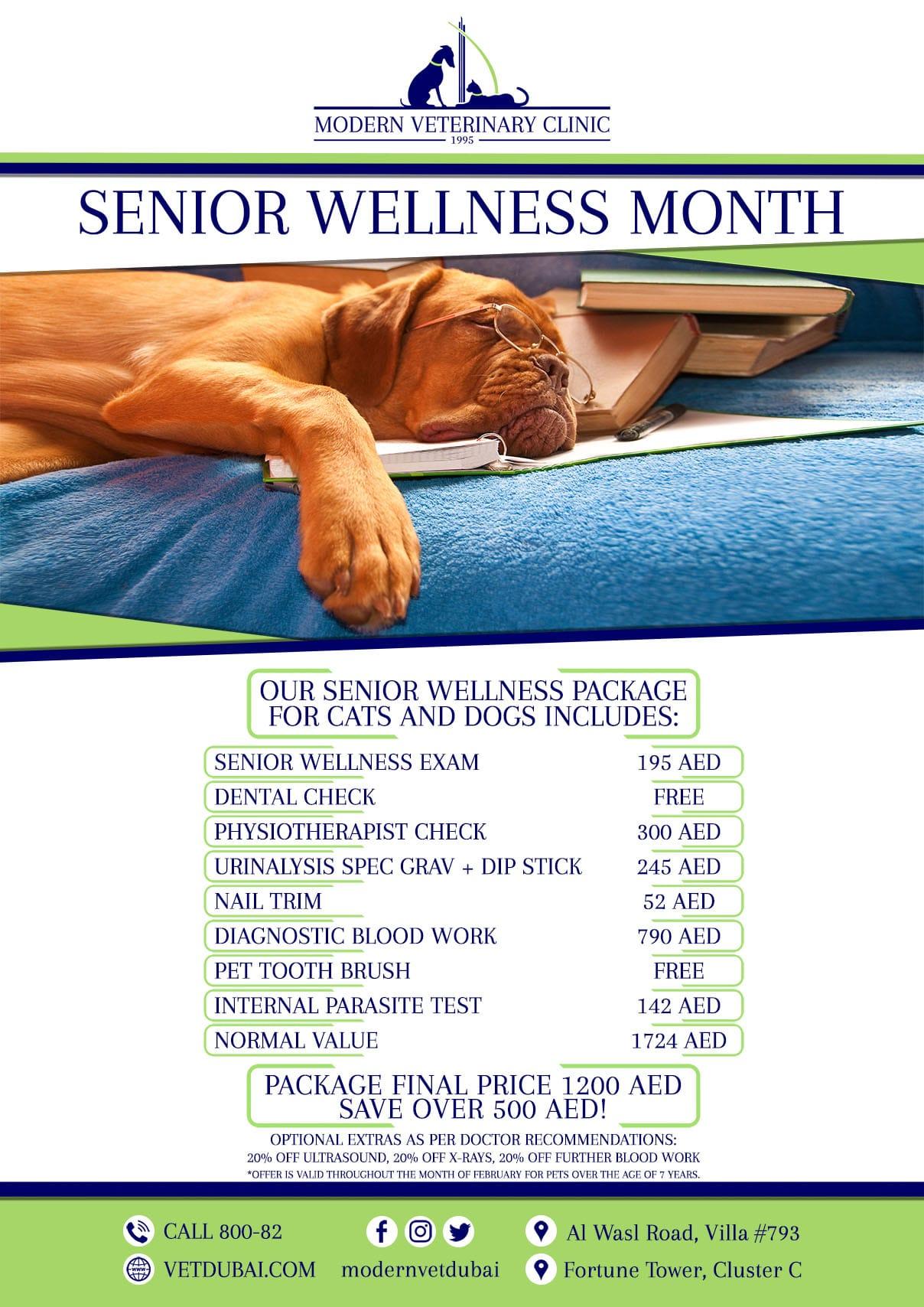 Senior Wellness Pakcage